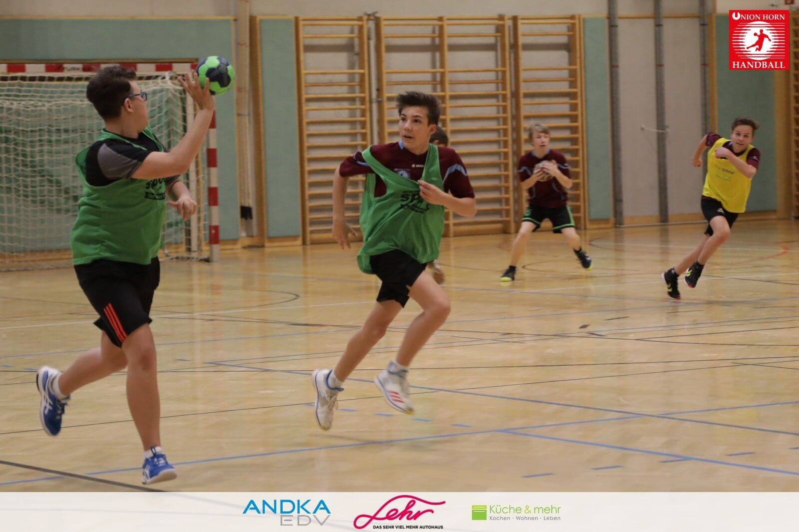 Handballtraining U13 U14 am 09.April 2019